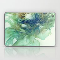 Laptop & iPad Skin featuring Comb by Anna Dittmann