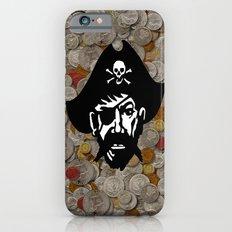 Captain Kidd II (The Rude Pirate) iPhone 6 Slim Case