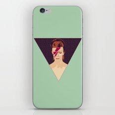 David Bowie/Aladdin Sane iPhone & iPod Skin
