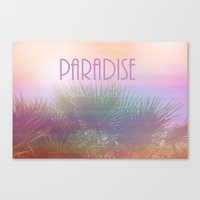 Paradise I Canvas Print