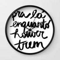 Trem Wall Clock