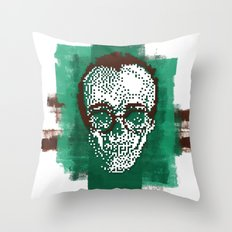 Keith POSTportrait Throw Pillow