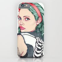 iPhone Cases featuring GIRL by Laura O'Connor