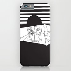 Man in the Mask -Watching your Walls iPhone 6s Slim Case