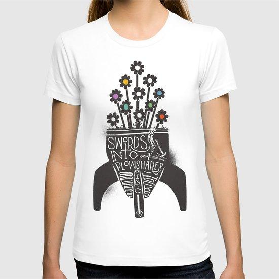 Swords Into Plowshares T-shirt