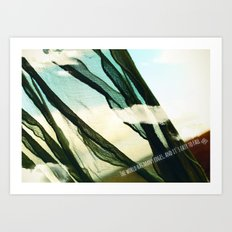 the world has many edges Art Print