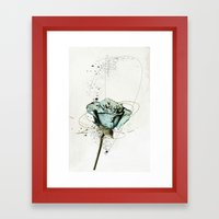 rose2 Framed Art Print