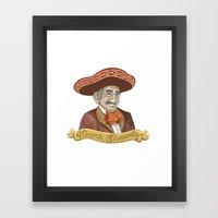 Vicente Fernandez  Framed Art Print