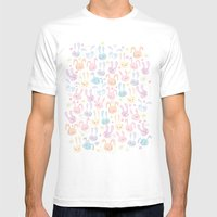 too many bunnies Mens Fitted Tee White SMALL