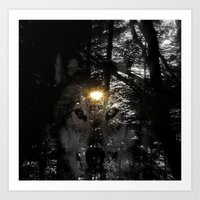 Wolf Your Time Approache… Art Print
