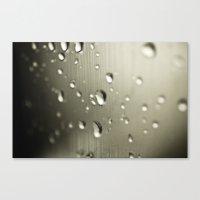 Rain Drops Keep Falling Canvas Print