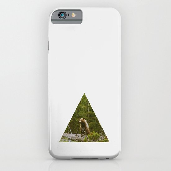 Log Bear iPhone & iPod Case