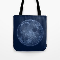 Dark Side of the Moon - Painting Tote Bag