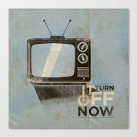 Tv ... Canvas Print