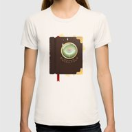 Occultism Womens Fitted Tee Natural SMALL
