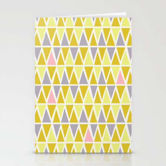 Lemon Sorbet Stationery Card