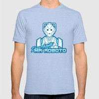 Domo Arigato Mr. Cyberman Mens Fitted Tee Tri-Blue SMALL