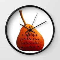 Just A Beautiful Poached… Wall Clock