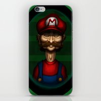 Sad Mario iPhone & iPod Skin