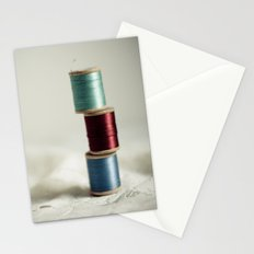 Vintage Threads Stationery Cards