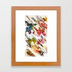 comic letter 1 Framed Art Print