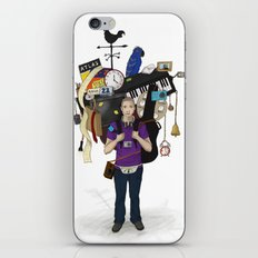 The Weight of Technology #1  iPhone & iPod Skin