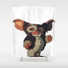Gizmo, Gremlin color Shower Curtain