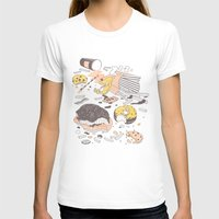 Brunch Womens Fitted Tee White SMALL