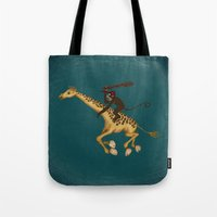 Run Through the Jungle Tote Bag