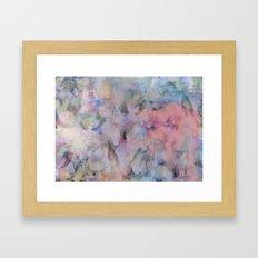 Painterly Soft Flora Abs… Framed Art Print