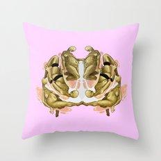 pink again Throw Pillow