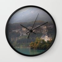 House on the Lake Wall Clock
