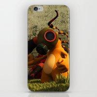 GasTon and Tento iPhone & iPod Skin