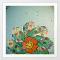 The Silver Flower Art Print