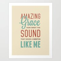 Amazing Grace Art Print