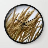 Wheat Wall Clock