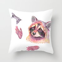 My Spaceship. ♥ Collab… Throw Pillow