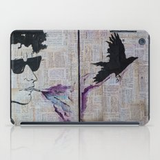 Bob Dylan: Like A Crow iPad Case