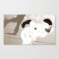 Bloody Skating - Ad Victoriam Canvas Print