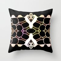 Sea Shell Creature Collection Throw Pillow