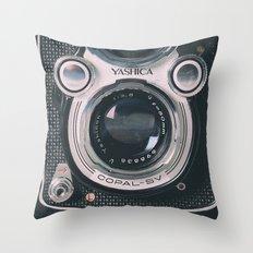 Photography camera 4 Throw Pillow