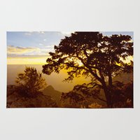 Grand Canyon sunrise Rug