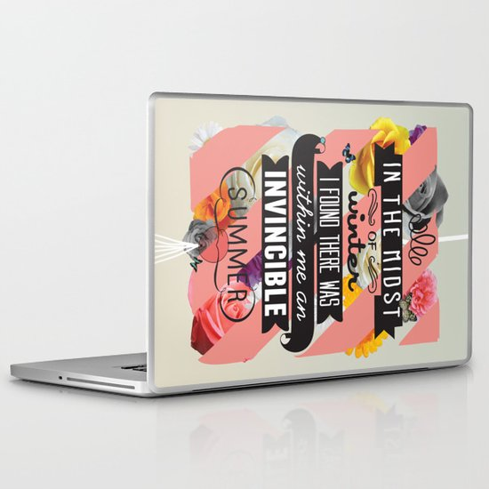 The Invincible Summer Laptop & iPad Skin