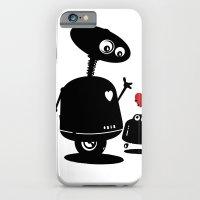 Robot Heart to Heart iPhone 6 Slim Case
