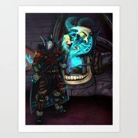 At The Forge Art Print