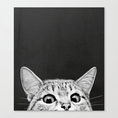 You asleep yet? Canvas Print