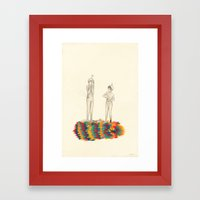 So You Can Stand Up For Me Framed Art Print
