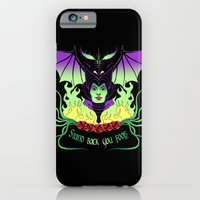 iPhone & iPod Case featuring Maleficent by Jessica Prando
