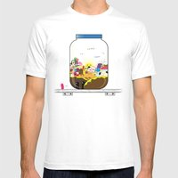 SF Sweet World  Mens Fitted Tee White SMALL