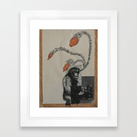 Process Framed Art Print